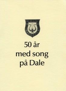 50 år med song på Dale 1981