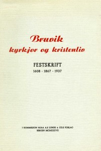Bruvik kyrkjor og kristenliv 1937