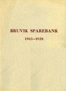 bruvik sparebank 1903-1928